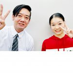 H30冬 中学3年 伊藤安梨沙さん 飯塚先生