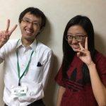 H30冬 中学3年 浅利帆海さん 樋口先生
