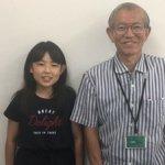 H30冬 中学1年 小野匡南さん 氏家先生