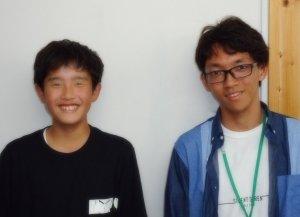 H30冬 中学2年 小野雄一郎くん 久保田先生