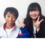 H30冬 中学1年 山本琉生くん 星川先生