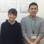 2019春 中学3年 須本凛さん 島村先生