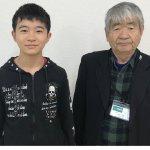 2019春 中学3年 藤崎正茂さん 石山先生