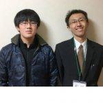 2019春 中学2年 谷川一真くん 樋口先生
