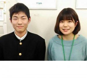 2019春 中学3年 野口勇也くん 松藤先生