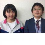 2019春 中学2年 安藤琴音さん 栗山先生