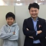 2019春 中学2年 高井柚翔くん 古田先生