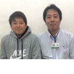 2019春 中学2年 羽根優生くん 浜田先生