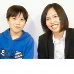 2019春 中学1年 中村諭也くん 山本先生