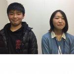 2019春 吉川東中学2年 小林拓人くん 高橋先生