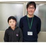 2019夏 中学3年 松本蛍弥さん 橋本先生