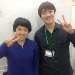 2019夏 中学3年 團彩奈さん 中尾先生
