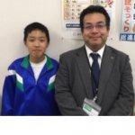2019夏 中学3年 伊藤愁人くん 松本先生