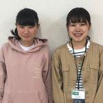 2019夏 中学2年 須佐海来さん 石川先生