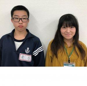 2019夏 中学3年 尾谷一心くん 寺島先生