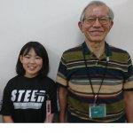 2019夏 中学2年 小野匡南さん 氏家先生