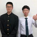 2019夏 高校2年 中垣敦喜さん 石田先生