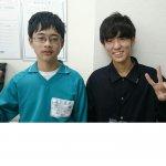 2019夏 中学3年 引本佑樹くん 小林(智)先生