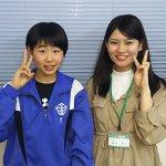 2019夏 中学3年 菅美咲さん 櫻庭先生