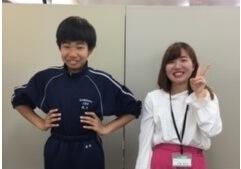 2019夏 中学3年 高井柚翔くん 目黒先生