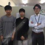 2019冬 高校2年 (中央)河野将也さん 島教室長