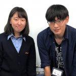 2019冬 高校2年 飯田茉夏さん 岸田先生