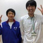 2019冬 中学3年 片岡秀登さん 樋浦先生