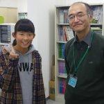 2019冬 中学3年 森美幸さん 深谷先生