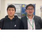 2020春 中学3年 西野洋太さん 南川先生