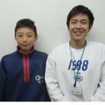 2020春 中学3年 塚田樹さん 西田先生