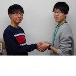 2020春 中学2年 磯山仁太さん 須田先生