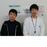 2020春 中学3年 川口京真さん 山崎先生