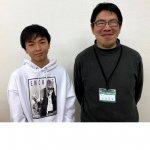 2020春 中学3年 小林拓也さん 安部先生