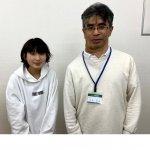 2020春 中学3年 髙山茉稟さん 大木先生