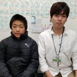 2020春 中学2年 下野和依さん 金羽先生