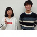 2020春 中学3年 伴きららさん 長谷川先生