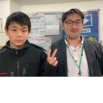 2020春 中学3年 西村拓さん 南川先生
