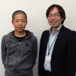 2020春 中学3年 岩本颯太さん 中村先生