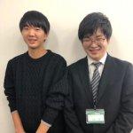 2020春 高校3年 渡辺智也さん 石田先生