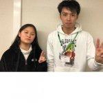2020春 中学3年 仰木茉珠さん 久保先生