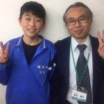 2020春 中学3年 杉本龍弥さん 廣田先生