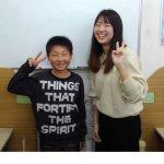 2020春 中学2年 中瀬翔夢さん 住野先生