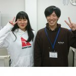 2020春 中学3年 中島彩綾さん 米田先生