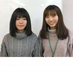 2020春 中学3年 清水愛美さん 野上先生