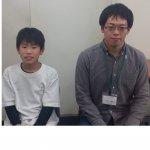 2020春 中学2年 岩永龍昇さん 中井先生