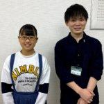 2020夏 中学3年 長坂侑奈さん 稲津先生