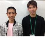 2020夏 中学2年 下坂優介さん 田中先生