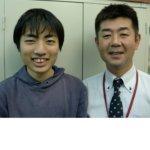 2020夏 中学3年 田渕莉玖さん上野山先生