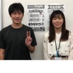 2020夏 中学3年 大元彬幹さん 鈴木先生
