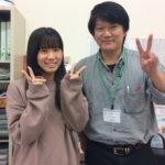2020春 高校2年 岸川花綸さん大西先生